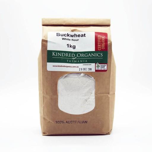 Kindred Organics Buckwheat Flour White
