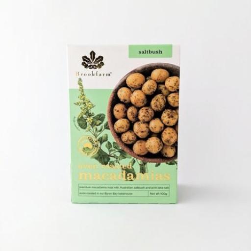 Brookfarm Oven Roasted Macadamias w Saltbush