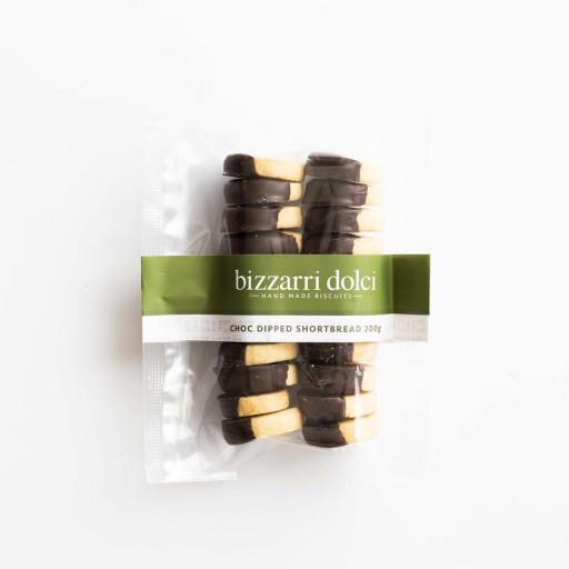 Bizzarri Dolci - Chocolate Dipped Shortbread