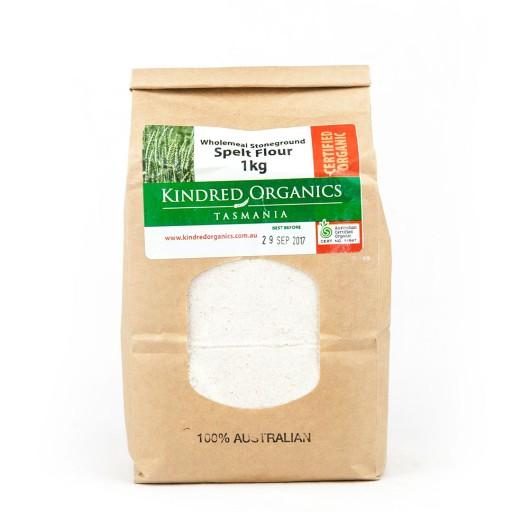 Kindred Organics Spelt Wholemeal Flour
