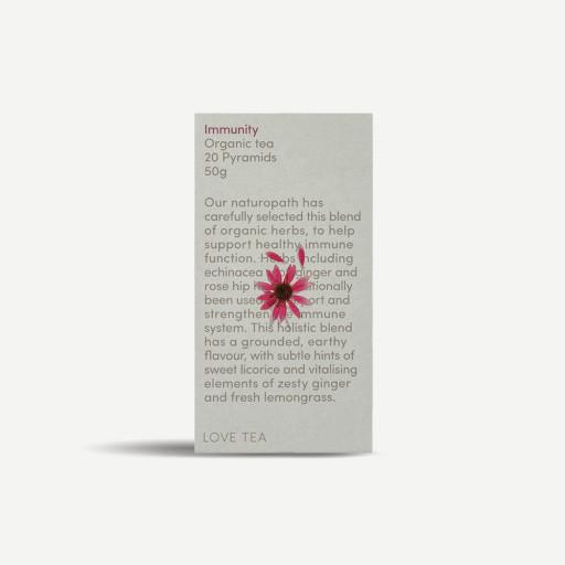 LOVE TEA Immunity Organic Tea Bags 50g