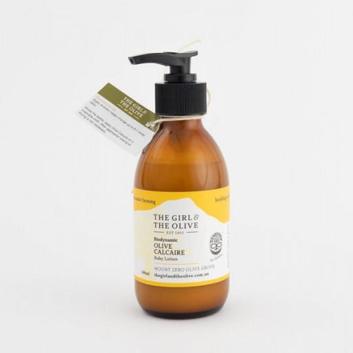 Biodynamic 'Baby' Olive Calcaire lotion