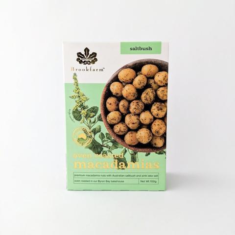 Image of Brookfarm Oven Roasted Macadamias w Saltbush